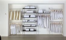 VOLANTESTOR INTERNAL WARDROBE MODULAR STORAGE KIT SYSTEM - 2 kit options (ECF VSK1/VSK2)